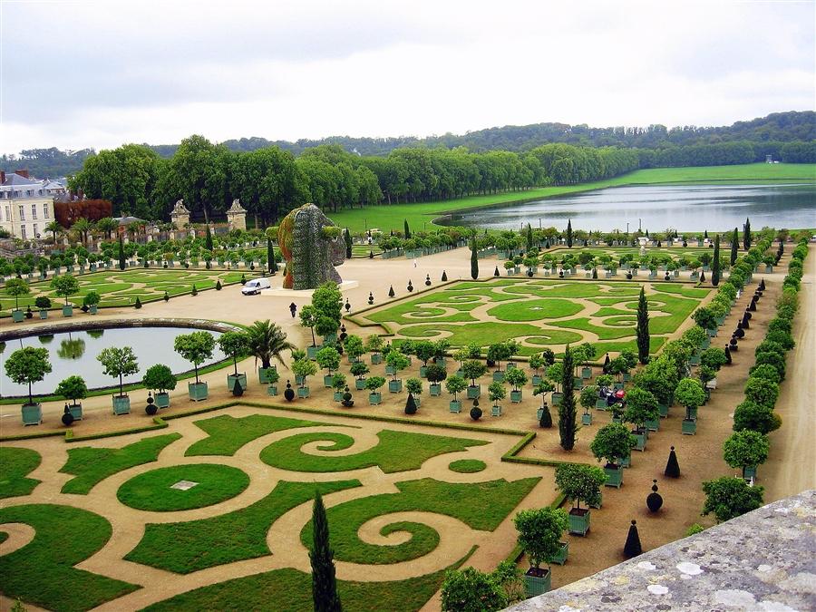 Водоемы в садах Версаля