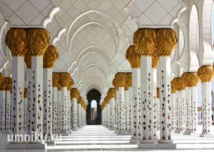 Мечеть шейха Зайда: колонны