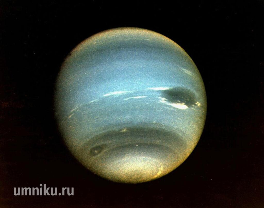 Нептун: фото «Вояджера-2»