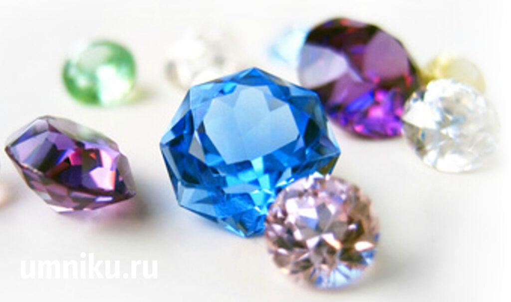 Драгоценные камни: фото
