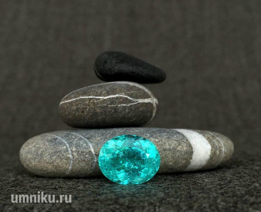 Драгоценные камни Бразилии: турмалин Параиба