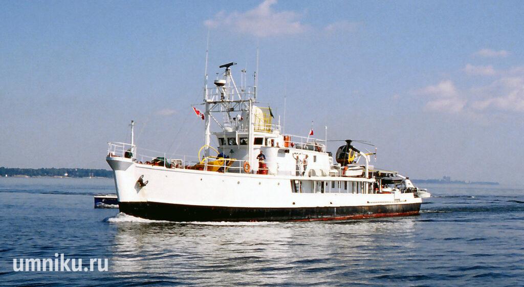 «Калипсо» - корабль Жака-Ива Кусто
