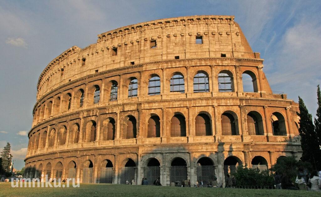 Колизей в Риме: фото