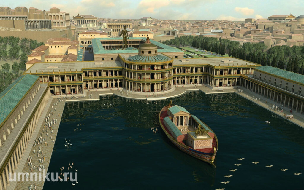 Золотой дом Нерона: реконструкция