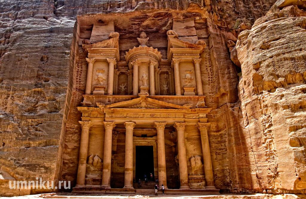 Эль-Хазне, Петра, Иордания: фото
