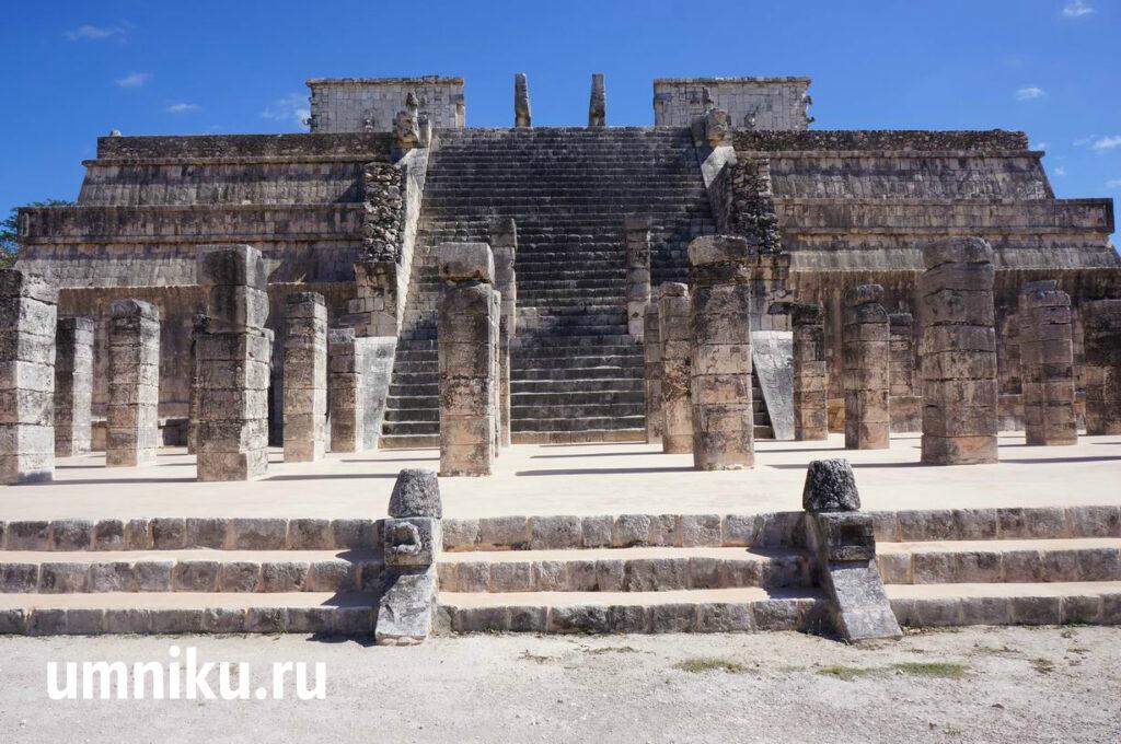 Храм воинов, Чичен-Ица: фото