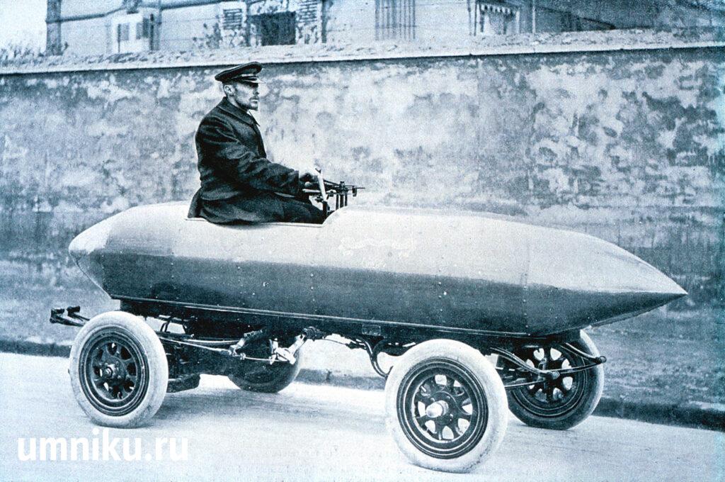 Электромобиль La Jamais Contente