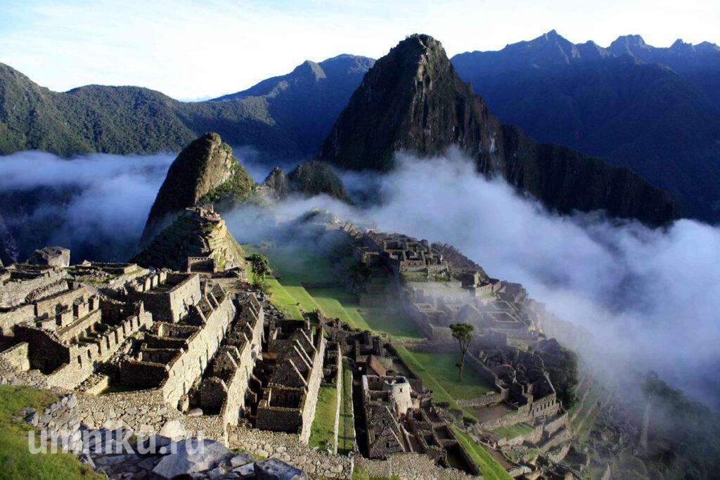 древний город Мачу-Пикчу фото