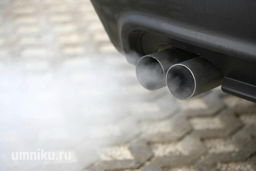 выхлопные газы загрязнение окружающей среды