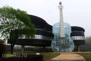 Самые необычные здания мира фото
