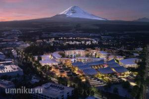 Тойота город будущего