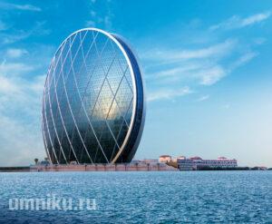 Круглый небоскреб-ракушка, ОАЭ